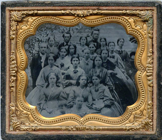 Group Ambrotype