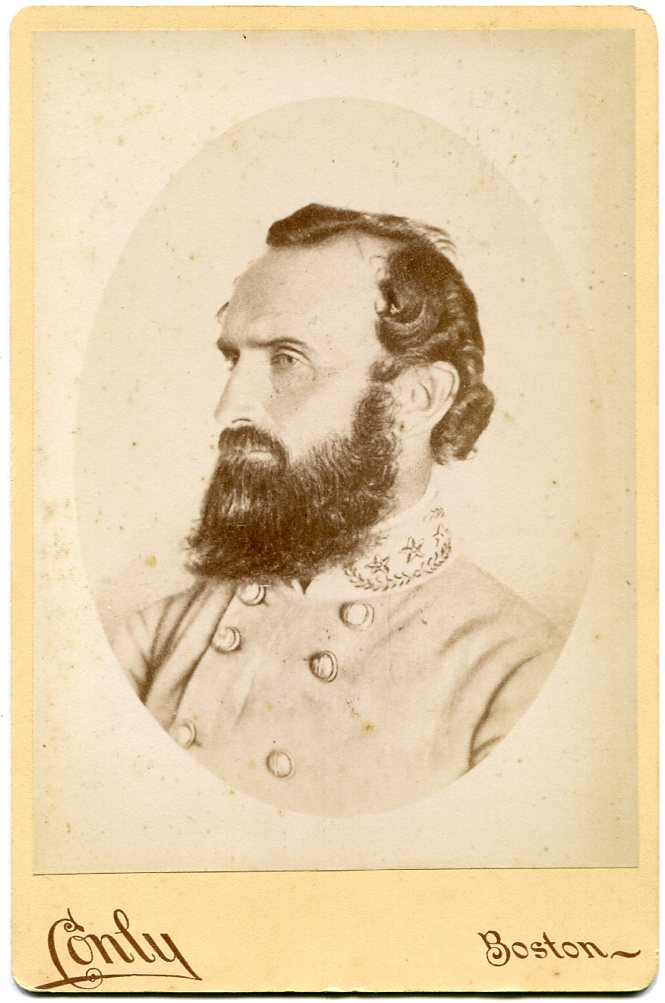 Stonewall Jackson Cabinet Card Photo